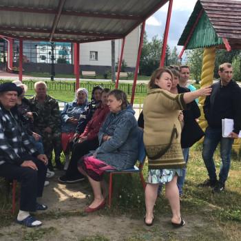 03 августа 2019 года состоялось собрание жителей дома № 19